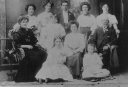 1910-Matilda-Tilly-Coke--her-10-children-and-James-Thorn-husband-Caniambo-Gowangardie