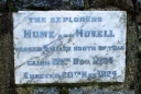 Hume and Hovell plaque