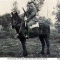 Thomas King with 8th Light Horse