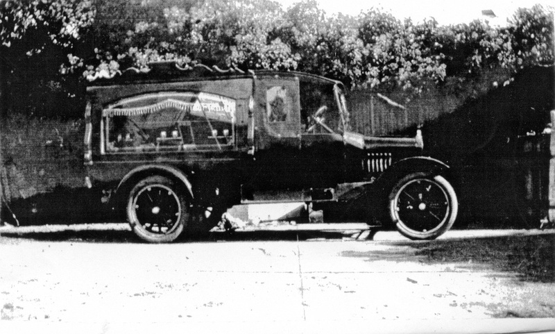 Riddle Bros Hearse 1927