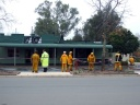 Fire destroys Milk Bar 2009 CFA