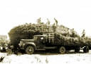 Building a haystack, Caniambo 1930s
