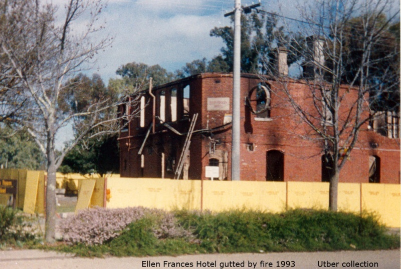 Fire guts Ellen Frances Hotel 1993